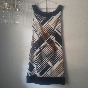 Connected Apparel Geometric Abstract SZ 12